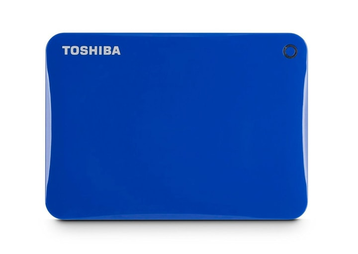 HDD Canvio Connect II 2TB bleu Disque Dur Externe HDD Toshiba 785300123390 Photo no. 1