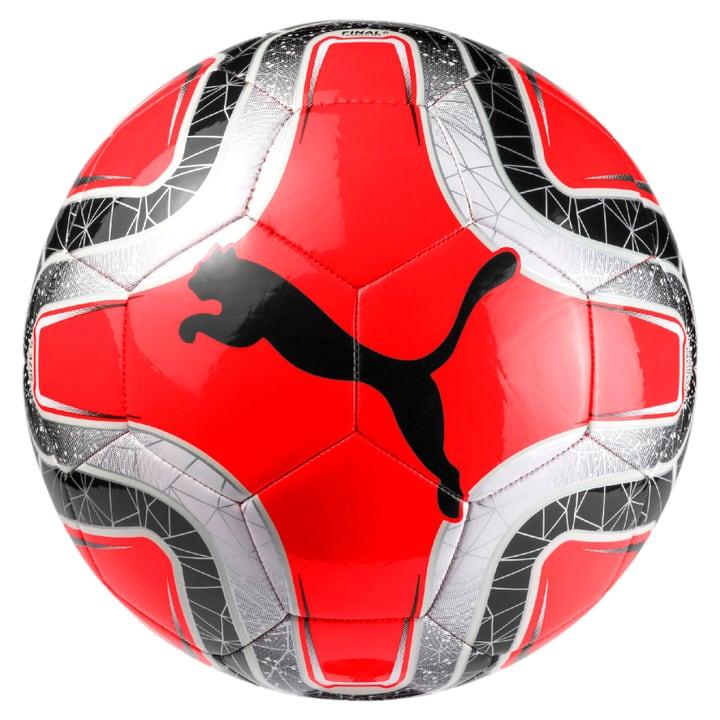 Final 6 MS Trainer Ballon de football Puma 461932300530 Couleur rouge Taille 5 Photo no. 1