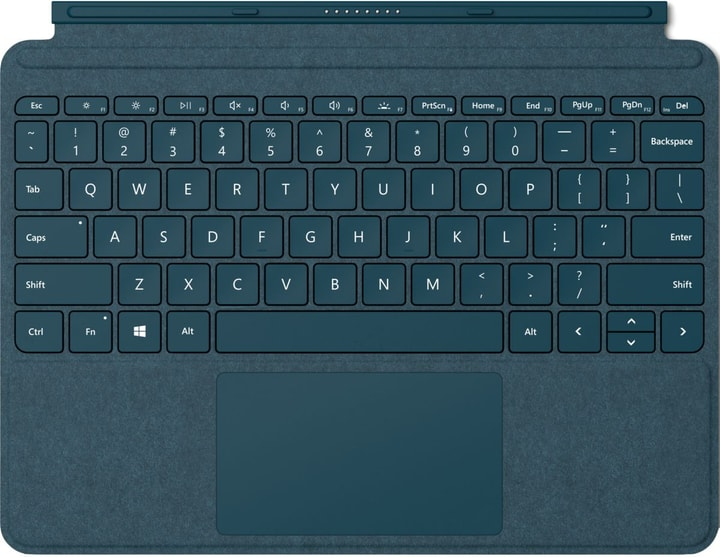 Surface Go Type Cover bleu cobalt Microsoft 785300137891 Photo no. 1
