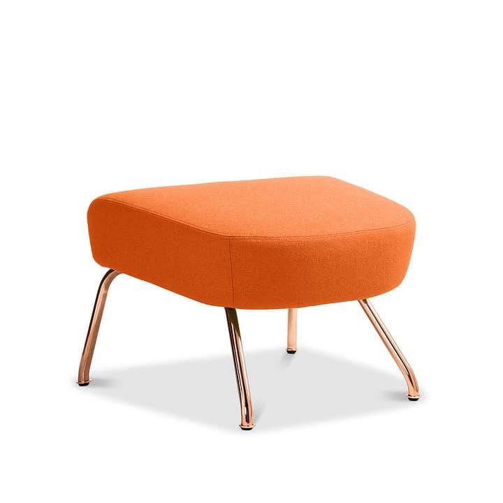 SENADO repose-pieds 360043210802 Dimensions L: 58.0 cm x P: 48.0 cm x H: 40.0 cm Couleur Orange Photo no. 1