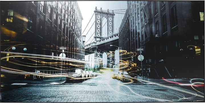 CITY I Tableau en aluminium 431834300000 Photo no. 1