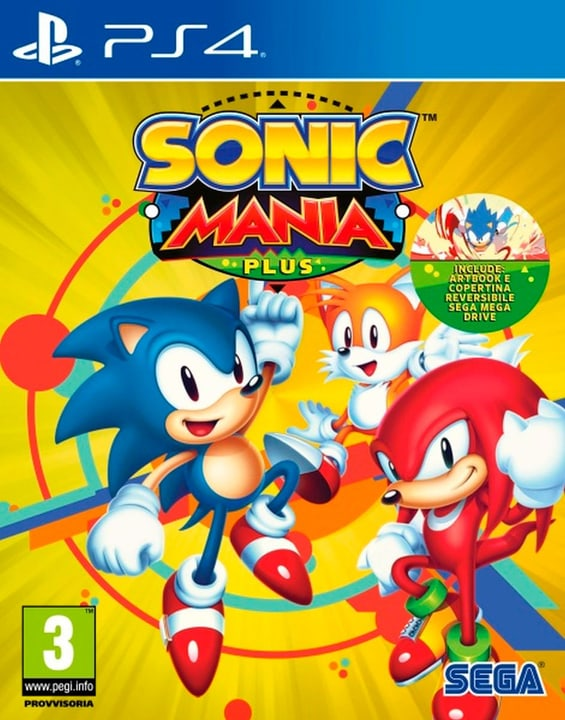 PS4 - Sonic Mania Plus (I) Box 785300135195 Bild Nr. 1