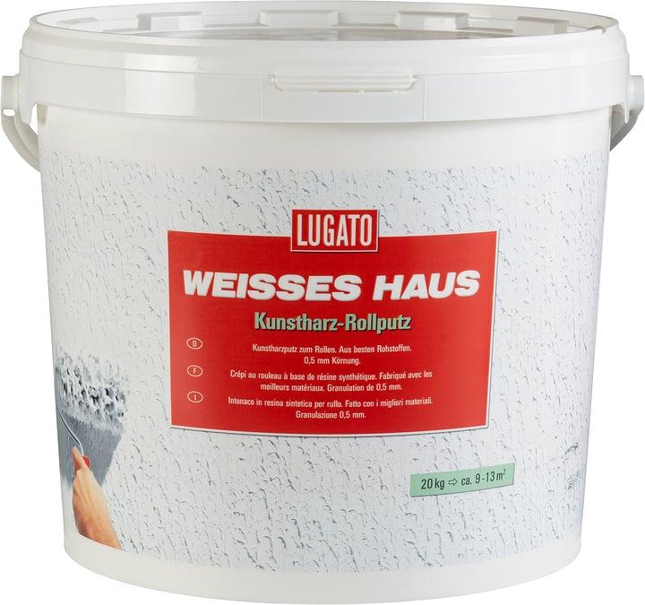 Weisses Haus Intonaco a rullo Lugato 676028800000 Colore Bianco N. figura 1