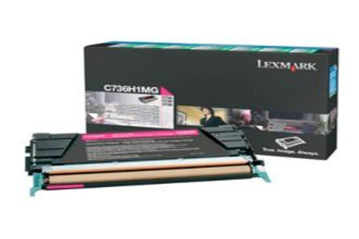 LEXMARK   Toner-Modul HY, magenta Lexmark 785300124476 Bild Nr. 1