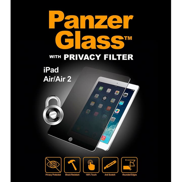 P1061 IPad Air/Air 2 / Pro / iPad 2017 Privacy Filter Protezioni schermo Panzerglass 798203100000 N. figura 1