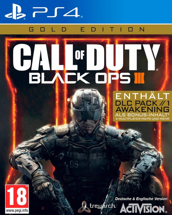 PS4 - Call of Duty: Black Ops III Gold (D) Box 785300133048 Photo no. 1