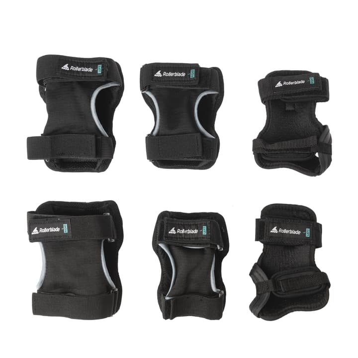 Kit di protezione per adulto Rollerblade 492451700520 Colore nero Taglie L N. figura 1
