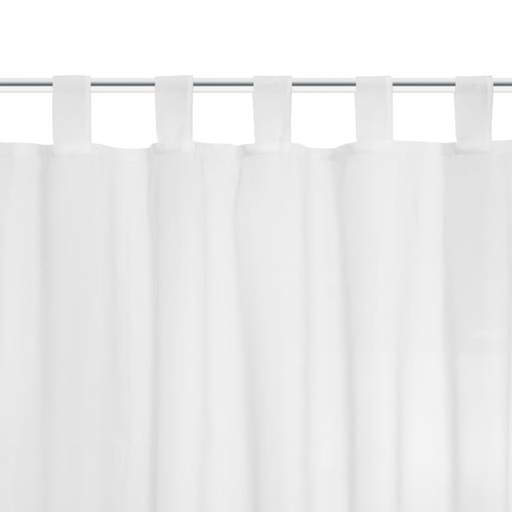 SIRENA Rideau prêt à poser 372091563346 Couleur Blanc Dimensions L: 140.0 cm x H: 260.0 cm Photo no. 1