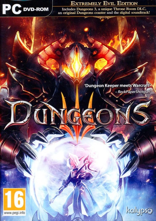 PC - Dungeons 3 Box 785300129682 N. figura 1