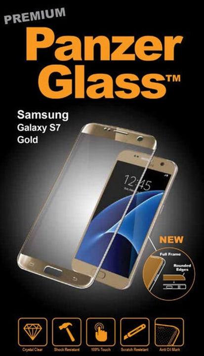 Premium Samsung Galaxy S7 - gold Panzerglass 785300134492 Bild Nr. 1