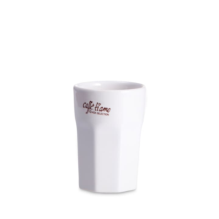 MACCHIATO Bicchiere da Espresso ASA 393001186839 Dimensioni L: 5.5 cm x P: 5.5 cm x A: 8.0 cm Colore Bianco N. figura 1