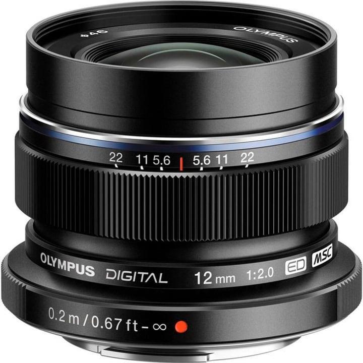 M.Zuiko 12mm F2.0 nero Obiettivo Olympus 785300125781 N. figura 1