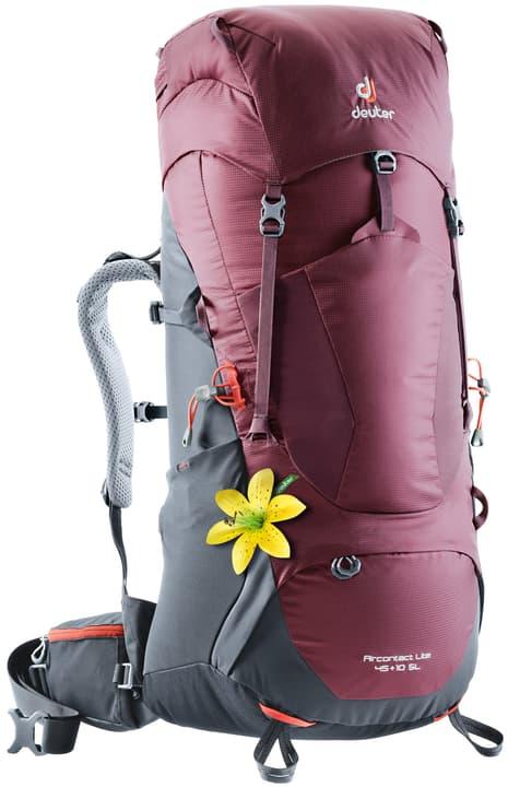 Aircontact Lite 45+10 SL Zaino da trekking per donna Deuter 460258600030 Colore rosso Taglie Misura unitaria N. figura 1