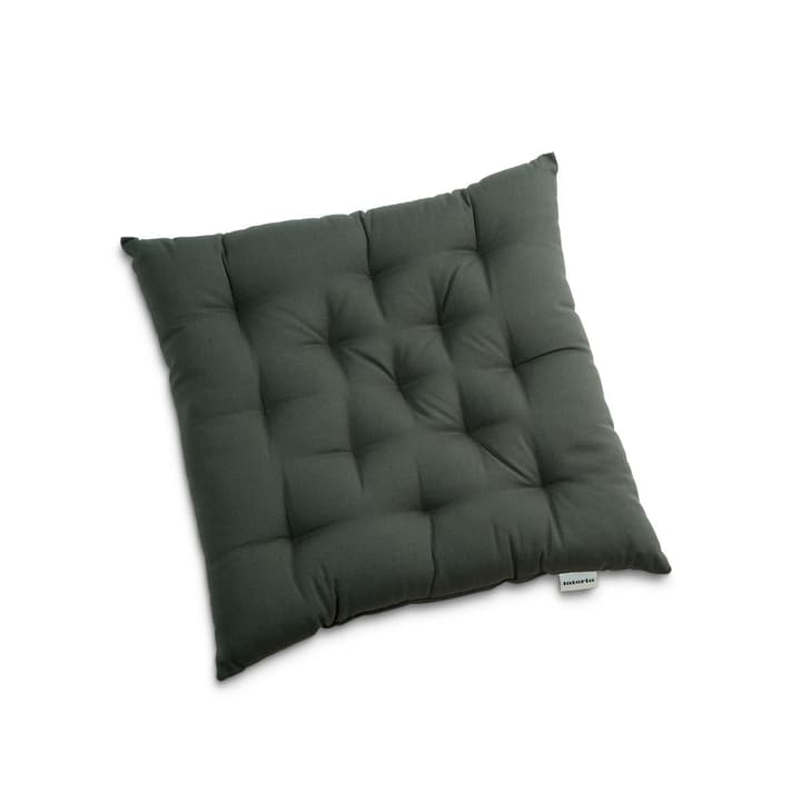 TABORA Coussin d'assise 378068400000 Couleur Anthracite Dimensions L: 40.0 cm x P: 40.0 cm Photo no. 1