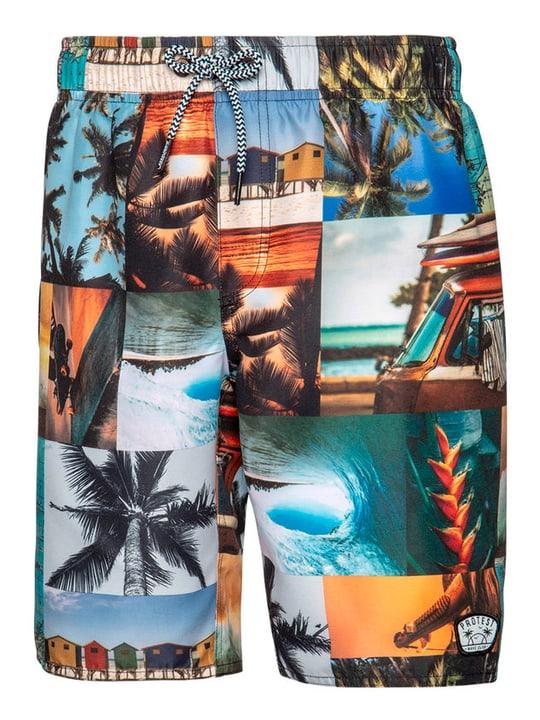 BOY JR Beachshort Short de bain pour garçon Protest 466981014093 Couleur multicolore Taille 140 Photo no. 1
