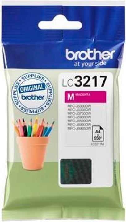 LC-3217M cartuccia d'inchio magenta Cartuccia d'inchiostro Brother 798538400000 N. figura 1