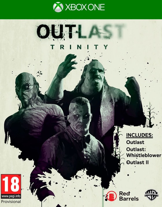 Xbox One - Outlast Trinity Box 785300122220 Photo no. 1