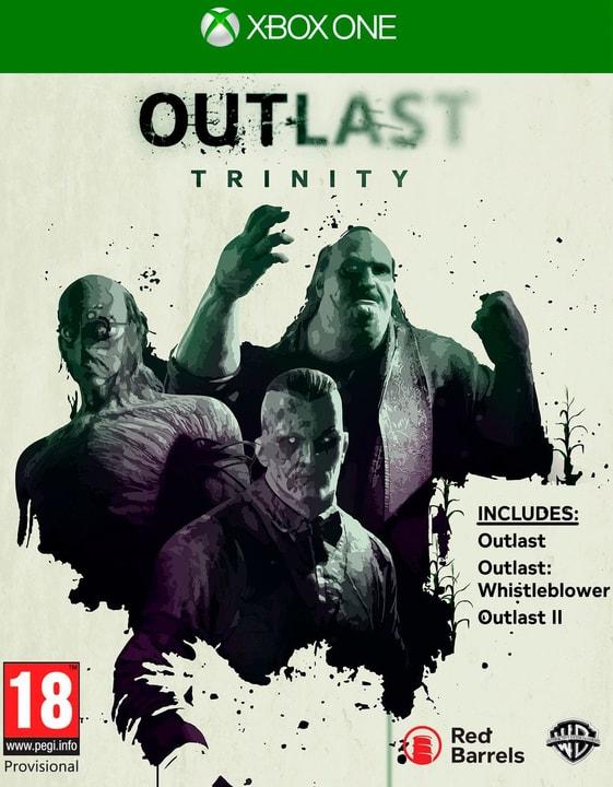 Xbox One - Outlast Trinity 785300122220 Photo no. 1