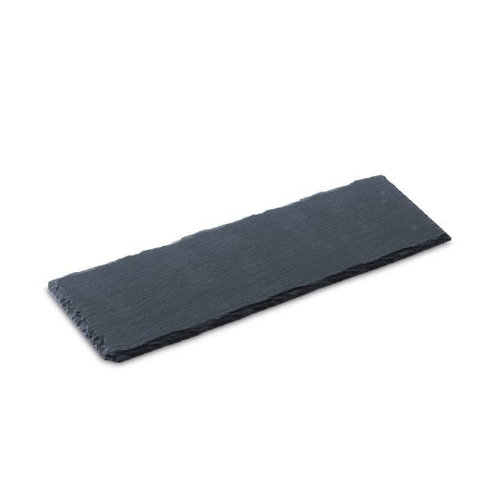 SCHIEFERPLATTE Schieferplatte 396000757450 Grösse B: 30.0 cm x T: 10.0 cm x H: 0.5 cm Farbe Schwarz Bild Nr. 1