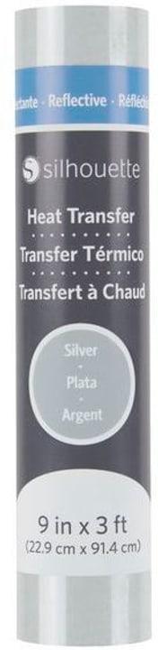 Aufbügelfolie 22.9 cm x 91.4 cm Silber, reflektierend Silhouette 785300141877 Bild Nr. 1