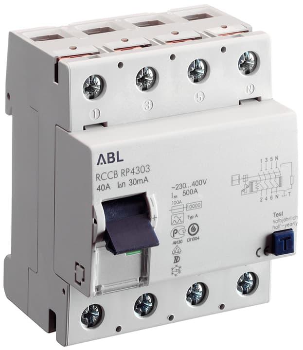 Image of ABL FI Schalter 30mA 40A 4-polig Fehlerstrom-Schutzschalter