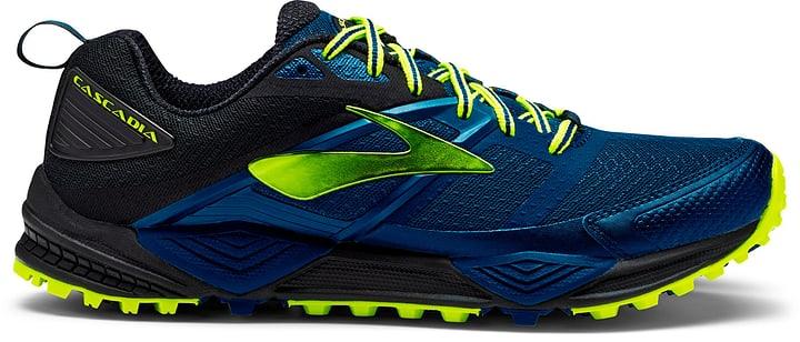 Cascadia 12 Chaussures de course pour homme Brooks 463210041040 Couleur bleu Taille 41 Photo no. 1