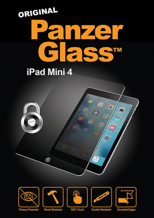 "Privacy iPad Mini 4 7.9 "" Protection d'écran Panzerglass 785300134566 Photo no. 1"