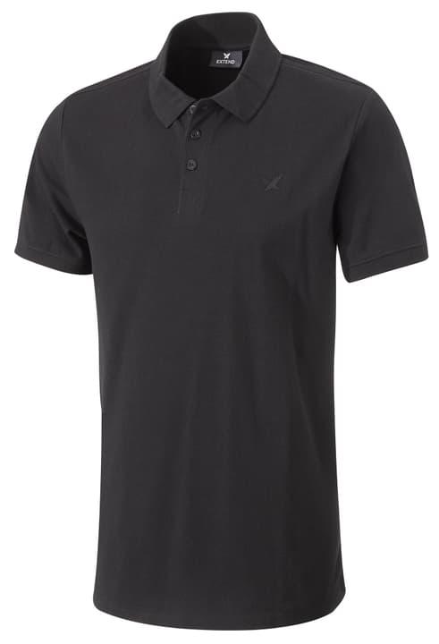 Poloshirt Polo Poloshirt da uomo Extend 462412300320 Colore nero Taglie S N. figura 1