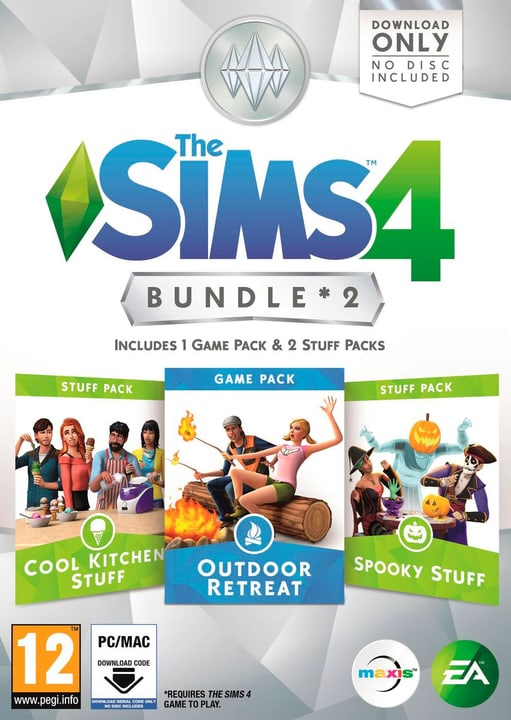PC - The Sims 4 Bundle 2 Box 785300120590 Bild Nr. 1
