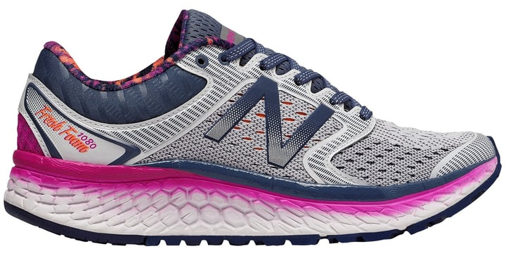 Fresh Foam 1080 v7 Chaussures de course pour femme New Balance 463226436581 Couleur gris claire Taille 36.5 Photo no. 1