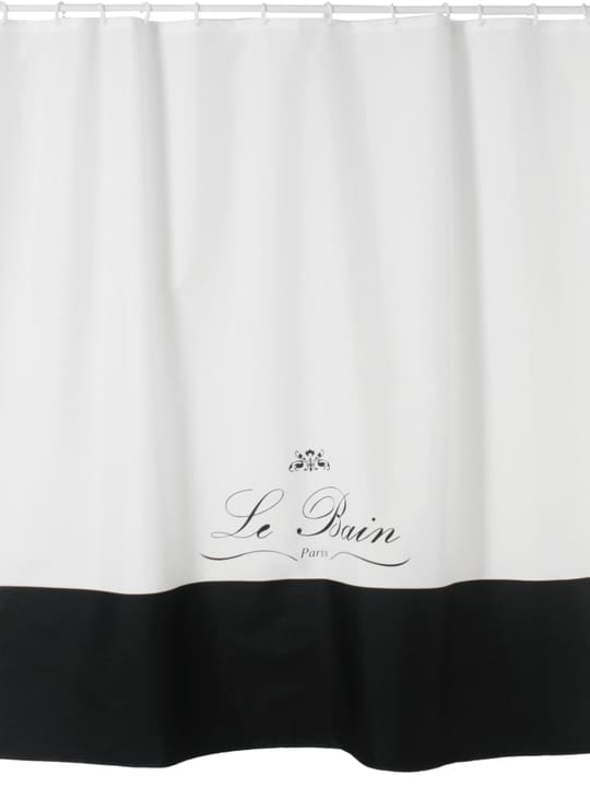 BAIA Rideau de douche 453144553510 Couleur Blanc Dimensions L: 180.0 cm x H: 200.0 cm Photo no. 1