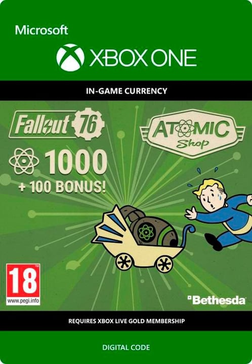Xbox One - Fallout 76: 1K (+100 Bonus) Download (ESD) 785300140341 Photo no. 1