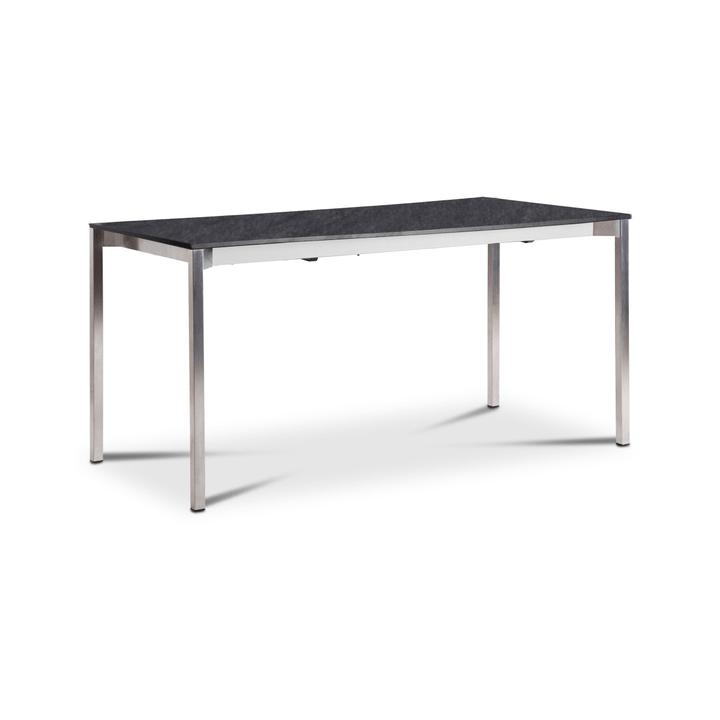 LUZON Table àrallonge 368031500000 Dimensions L: 150.0 cm x P: 90.0 cm x H: 75.0 cm Couleur Gris foncé Photo no. 1