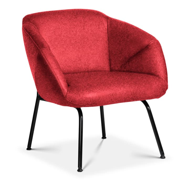 FOILD Poltrona Edition Interio 360441307030 Dimensioni L: 74.0 cm x P: 66.0 cm x A: 76.0 cm Colore Rosso N. figura 1