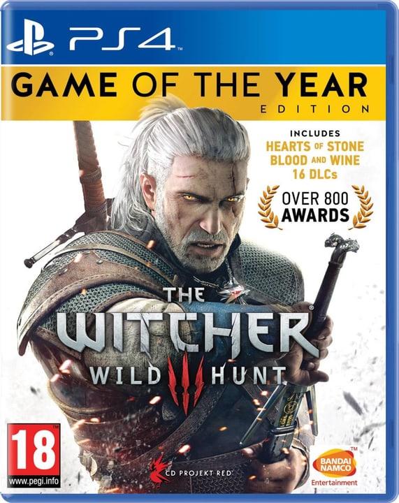 PS4 - The Witcher 3: Wild Hunt GOTY Box 785300121221 Bild Nr. 1