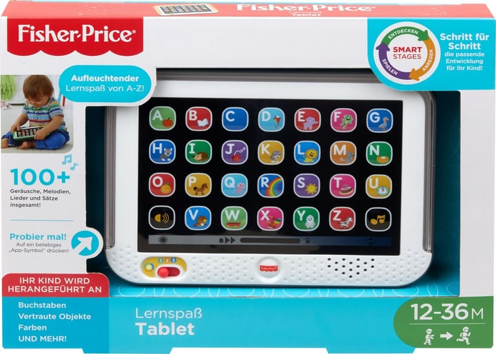 Fisher-Price Lernspass Tablet (D) 746369290000 Langue Allmend Photo no. 1