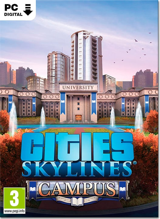 PC - Cities: Skylines Campus Download (ESD) 785300144850 Photo no. 1