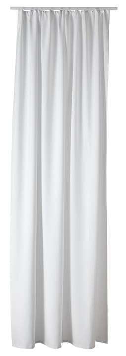 LUCIUS Rideau prêt à poser opaque 430260221810 Couleur Blanc Dimensions L: 140.0 cm x H: 260.0 cm Photo no. 1