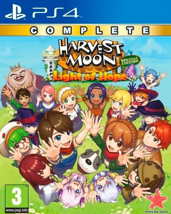 PS4 - Harvest Moon Light of Hope Complete Special Edition F/I Box 785300146866 Photo no. 1