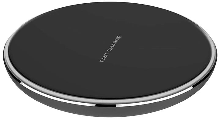 Wireless Charger schwarz Ladegerät XQISIT 798617800000 Bild Nr. 1