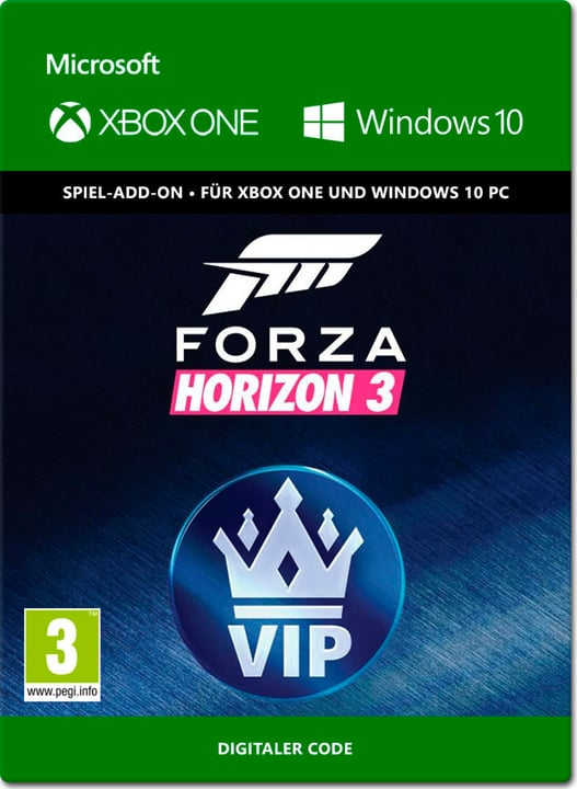 Xbox One - Forza Horizon 3: VIP Download (ESD) 785300137358 N. figura 1