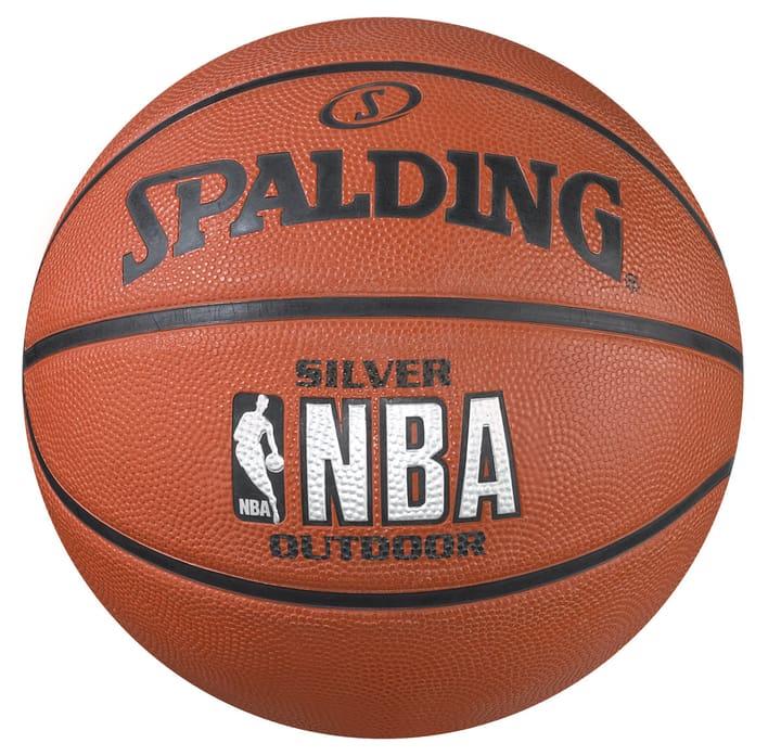 NBA Silver (7) Ballon de basket-ball Spalding 472257100770 Taille / Couleur 7 - brun Photo no. 1