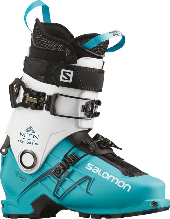 MTN Explore Scarpone da sci da turismo da donna Salomon 462606724541 Colore blu chiaro Taglie 24.5 N. figura 1