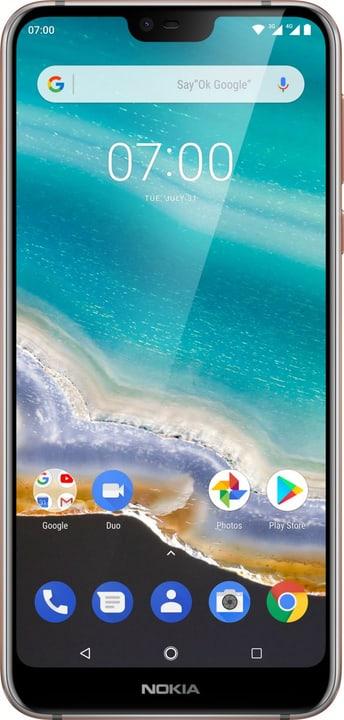 7.1 Dual SIM 32GB Steel Smartphone Nokia 794632000000 Bild Nr. 1