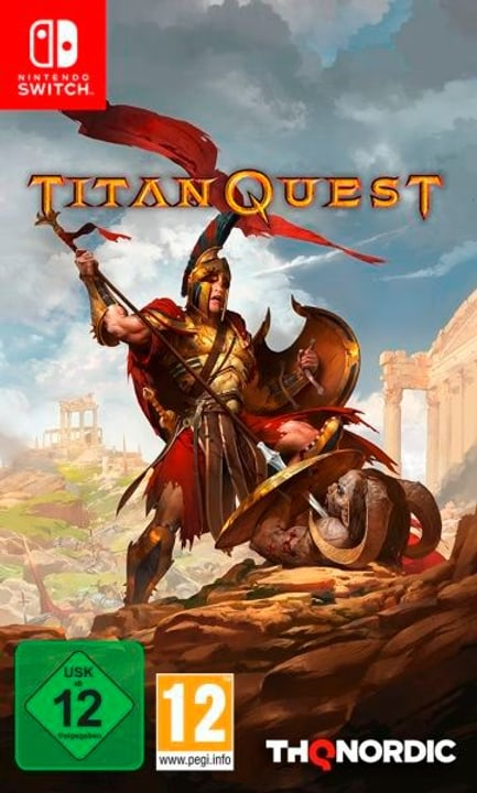 Switch - Titan Quest (D) Fisico (Box) 785300134885 N. figura 1