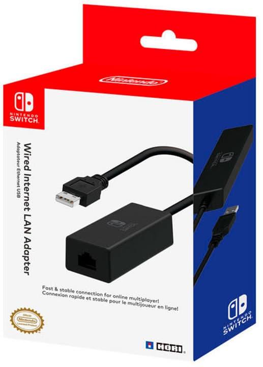 Nintendo Switch Internet LAN adaptateur Hori 785300127610 Photo no. 1