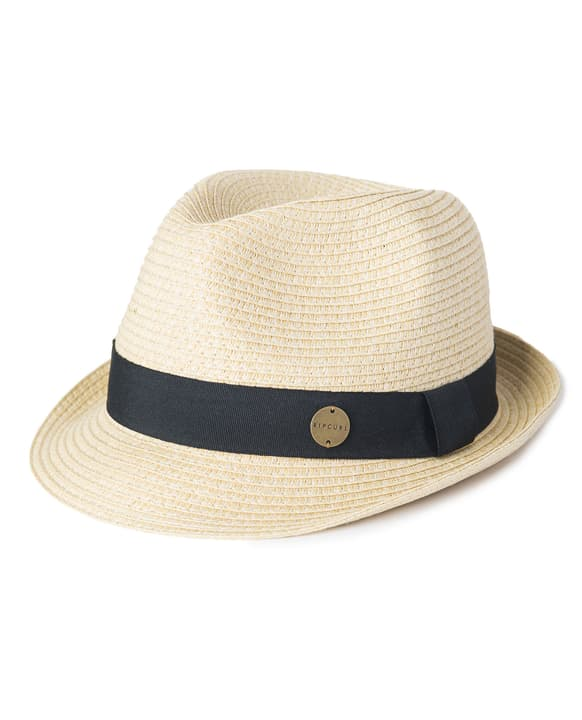 Dakota Fedora Chapeau pour femme Rip Curl 463126800474 Couleur beige Taille M Photo no. 1