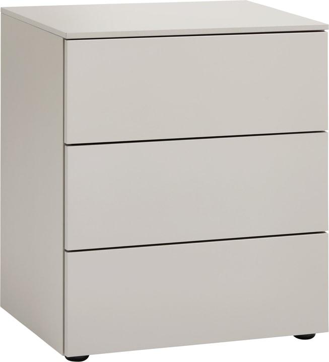 TRESOR Table de chevet 404433185007 Couleur Gris taupe Dimensions L: 50.0 cm x P: 41.0 cm x H: 60.0 cm Photo no. 1