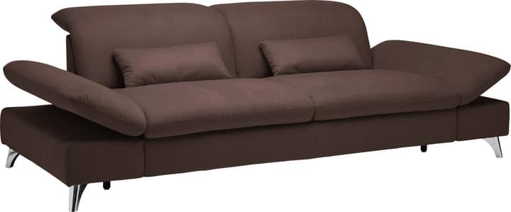 KLINGLER 3er-Sofa 405737000000 Farbe Dunkelbraun Grösse B: 176.0 cm x T: 126.0 cm x H: 94.0 cm Bild Nr. 1