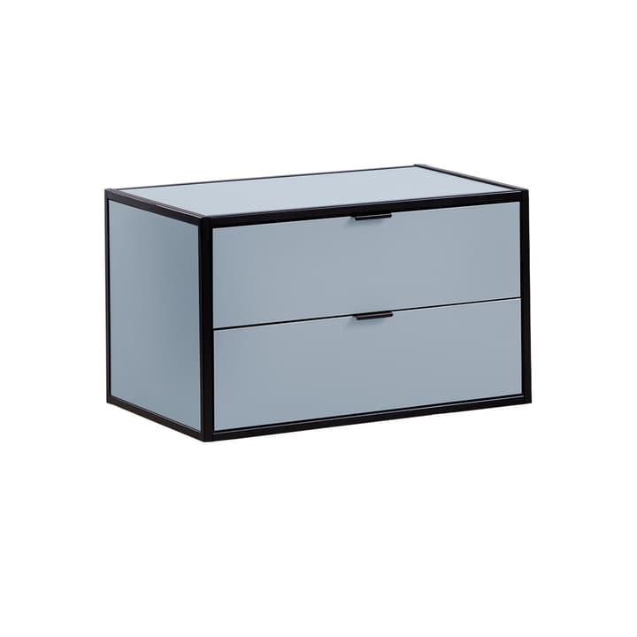 SEVEN Schublade mit Abdeckung Edition Interio 360985000000 Grösse B: 60.0 cm x T: 38.0 cm x H: 35.0 cm Farbe Blau Bild Nr. 1
